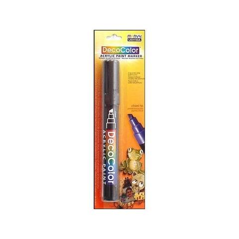 Uchida DecoColor Acry Paint Pen Card Black