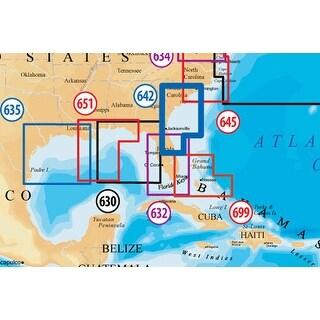 Navionics CF/642PP(Raymarine Platinum Plus South Carolina and North Florida