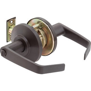 """Best Access 7KC30L15DS3  7KC Series Privacy Door Lever Set with """"15"""" Lever, """"D"""" Trim, S3 Strike and 2-3/4"""" Backset"""
