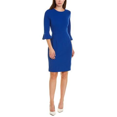 Donna Morgan 3/4-Sleeve Sheath Dress