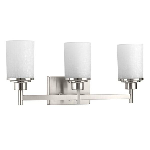 Miseno MLIT-11047-BH3 Elysa 3-Light Bathroom Vanity Light - Reversible Mounting Option