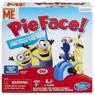 Pie Face Game Despicable Me Minion Made Edition https://ak1.ostkcdn.com/images/products/is/images/direct/143ed69b0c2a1eae068bd7e19b9b91631a59ca38/Pie-Face-Game-Despicable-Me-Minion-Made-Edition.jpg?impolicy=medium