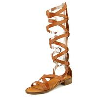 Sixtyseven 77626 Women Brandy Natural Sandals