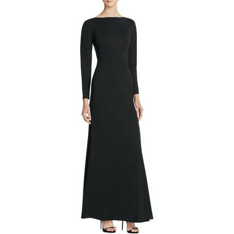 Parker Womens Barbara Evening Dress Crepe Embellished