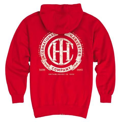 IHC Circle Banner - CASE IH International Harvester Men's Pullover Hoodie