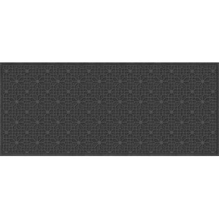 707540037 Water Guard Stained Glass Mat in Charcoal - 3 ft. x 7 ft.