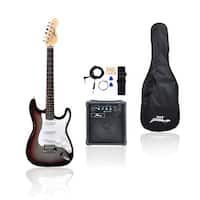 Beginners Electric Guitar Kit, Includes Amplifier & Accessories (Sunburst)