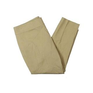Lauren Ralph Lauren Womens Petites Cropped Pants Skinny Fit Classic Rise - 10P