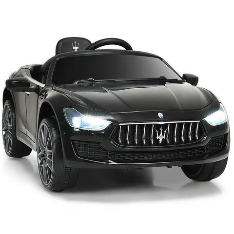 Costway 12V Maserati Licensed Kids Ride on Car w/ RC Remote Control