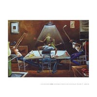''Spades (mini)'' by Frank Morrison Sports/Games Art Print (9 x 12 in.)