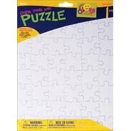 """- Color Your Own Puzzle 48 Pieces 8.5""""X11"""" 1/Pkg"""