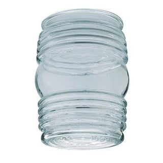 "Westinghouse 85617 Jelly Jar Clear Glass, 4-3/4"" x 3-5/8"""