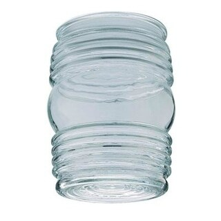 """Westinghouse 85617 Jelly Jar Clear Glass, 4-3/4"""" x 3-5/8"""""""