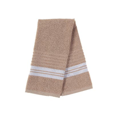 Deluxe Hand Towel (16 X 27) (Taupe) - Set of 6