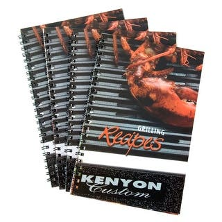 Kenyon International A70001 Kenyon Cookbook https://ak1.ostkcdn.com/images/products/is/images/direct/144424ff61655fa0174a3e74ce0fa1c4235a58a3/Kenyon-International-A70001-Kenyon-Cookbook.jpg?impolicy=medium