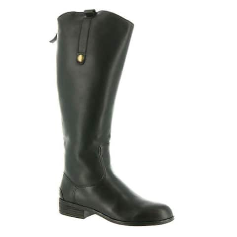 ARRAY Womens Derby Leather Closed Toe Knee High Fashion Boots