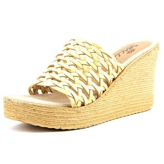 Sbicca Gallatin   Open Toe Synthetic  Wedge Sandal