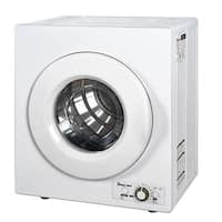 Magic Chef Mcsdry1s 2.6 Cu. Ft. Compact Electric Dryer - White