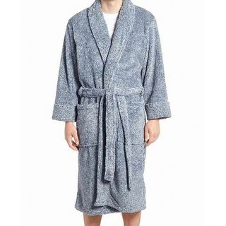 Black Brown NEW Silver Gray Mens Size S/M Belted Plush Robes Sleepwear