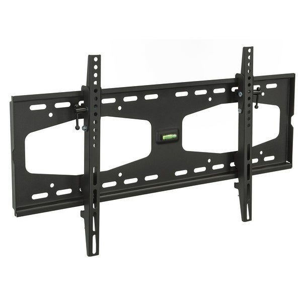 Mount-it! Slim Tilting TV Wall Mount Bracket Low Profile - Black