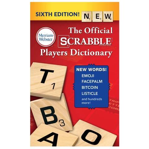 Merriam-webster (3 ea) scrabble players dictionary 5964bn
