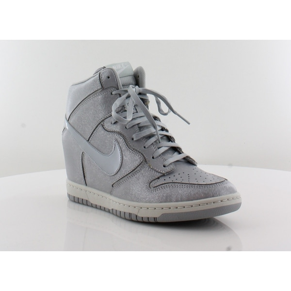 brand new 38f1c 8d9d5 Nike Dunk Sky Hi Women  x27 s Fashion Sneakers Wolf Gray