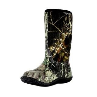 "Bogs Boots Boys Kid 11"" Classic Camo Rubber WP Mossy Oak"