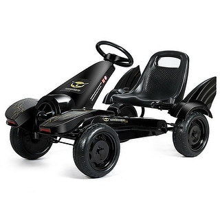 Link to Go Kart Pedal Powered Kids Ride on Car 4 Wheel Racer Toy w/ Clutch & Similar Items in Bicycles, Ride-On Toys & Scooters
