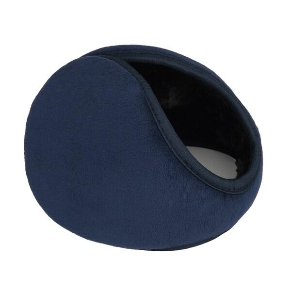 Outdoor Activities Warm Ear Earmuffs Winter for Men Women Drak Blue-2