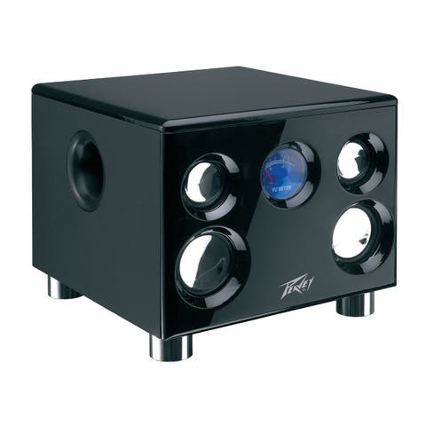 Bluetooth Speaker System Black W/Output Power: 35 Watts Rms, Voltage At 13V W/Lowpass Driver: 5.25-I