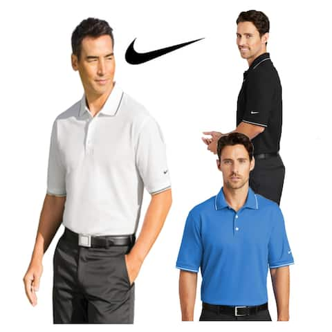 Nike Men's DRI-FIT Classic Tipped Polo