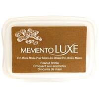 Memento Luxe Ink Pad-Peanut Brittle