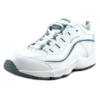 Easy Spirit Romy Women W Round Toe Leather White Walking Shoe