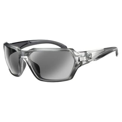 3683dad3598 Ryders Eyewear Face Crystal with Silver R842-002 Grey Lens Sunglasses