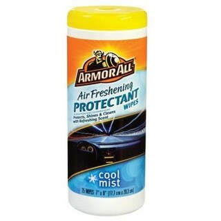 Armor All 78509 Air Freshening Protectant Wipe, Cool Mist