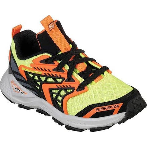 Skechers Boys' Turbo Spike Astrozone Sneaker Yellow/Black