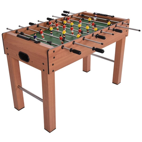 """48"""" Competition Game Foosball Table - Overall dimension: 48"""" x 24"""" x 31"""". Opens flyout."""
