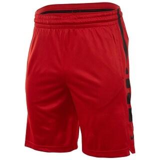 Nike NEW Red Men's Black Size 2XL Athletic Pull-On Drawstring Shorts
