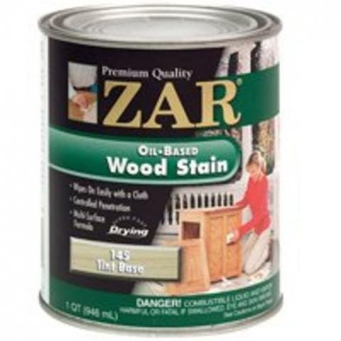 Zar 14512 Interior Wood Stain, 145 Tint Base