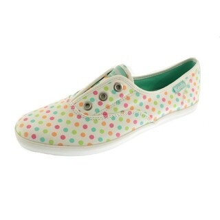Keds Womens Canvas Polka Dot Casual Shoes - 10 medium (b,m)
