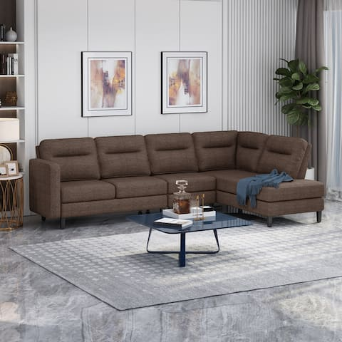 Ledgemere Modern 3-pc. Sectional Sofa w/ Chaise Lounge by Christopher Knight Home