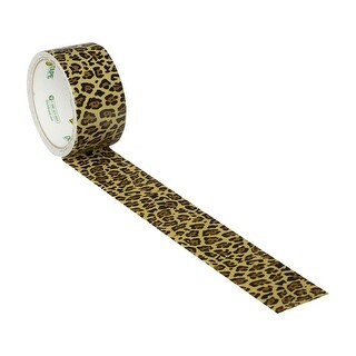Spotted Leopard Duck brand Duct Tape 1.88 inch x 10 yds