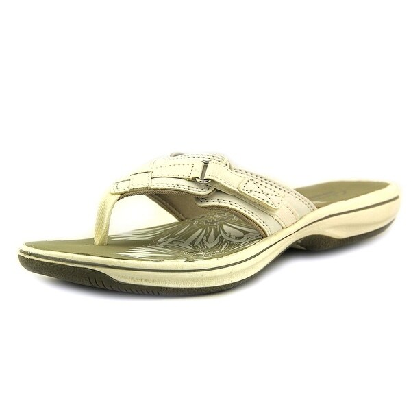 Clarks Narrative Breeze Sea Women Open Toe Synthetic White Thong Sandal