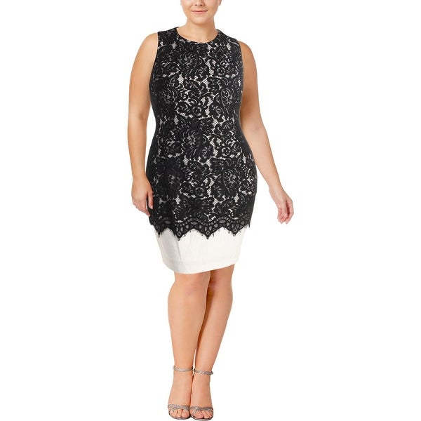 Lauren Ralph Lauren Womens Tasha Cocktail Dress Special Occasion Lace