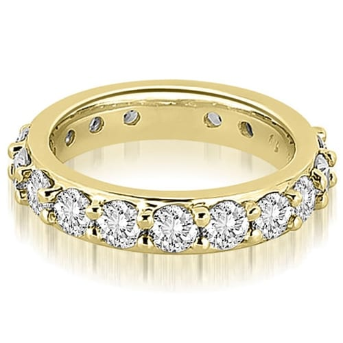 2.00 cttw. 14K Yellow Gold Round Diamond Eternity Ring