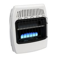 Dyna-Glo BF20NMDG 20000 BTU Natural Gas Blue Flame Vent Free Wall Heater - White
