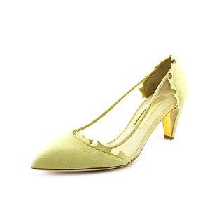 Rupert Sanderson Idyll Women Pointed Toe Suede Heels