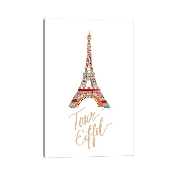 "iCanvas ""Eiffel Bronze"" by ETTAVEE Canvas Print. Opens flyout."