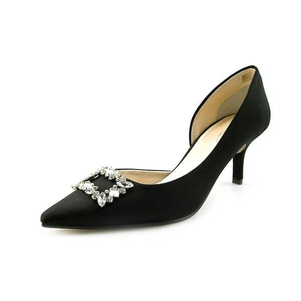 Caparros Eliza Women Pointed Toe Canvas Heels