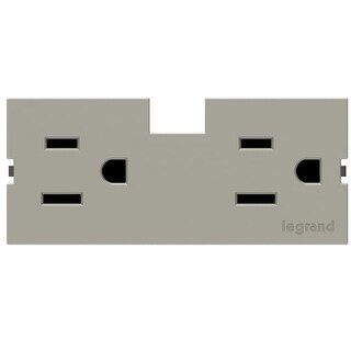 Legrand APTR15TM4 adorne Under Cabinet Outlet Module (15A)